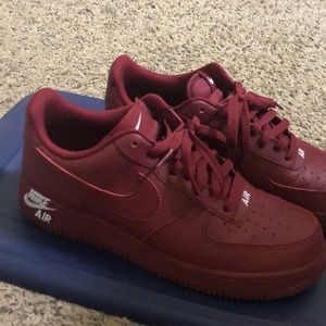 Burgandy Airforce 1